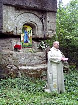 požehnání nového obrazu sv. Jana Křtitele