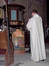 požehnání obrazu sv. Jana Křtitele