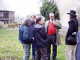 Dušičkovou pouť navštívil také ministr zahraničí kníže Karel Schwarzenberg