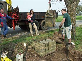 Oprava kříže, 6.5.2006
