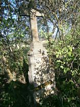 Stav kříže před opravou.