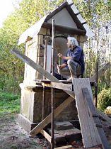 Reparatur der Kapelle, 18.9.2004