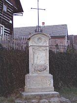 Kříž v obci - 8.11.2003