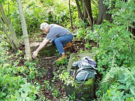 čištění kamenných částí, 11.7.2004