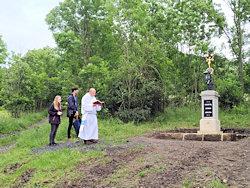 Posvěcení obnoveného kříže 20.6.2020