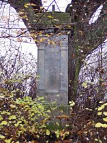 Stav kříže před opravou, 30.10.2004