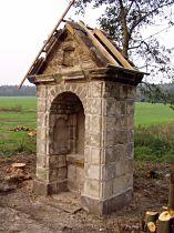 Reparatur der Kapelle, 4.10.2005