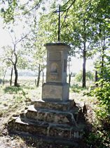 Kreuz am Nordwestrande der Gemeinde - 20.9.2005