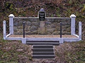 Pomník padlým - podzim 2008