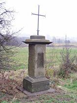 Kříž u silnice do Horní Libchavy - 12.11.2005