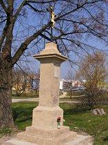 Kříž u sídliště Sever - duben 2009