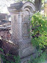 Stav kříže před opravou, 18.5.2003