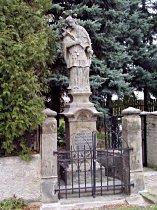 Statue des hl. Johann v. Nepomuk - October 2006