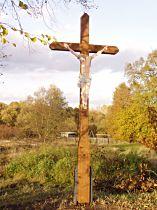 Kreuz an der Strasse zur Brenner Mühle - 26.10.2005