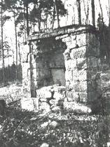 Kapelle vor der Zerstörung