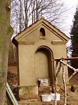 Reparatur der Kapelle, 14.11.2004