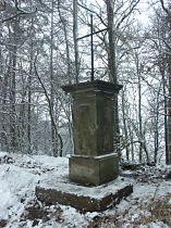 Kříž u silnice do Dobranova - 20.11.2004