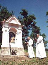Svěcení kaple sv. Trojice - 18. května 2002