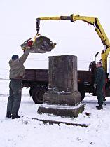 Osazení opravené hlavice, 20.11.2004