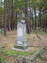 Kříž jižně od osady - 16.10.2005