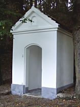 Kapelle an der Strasse nach Lindava - 18.9.2004
