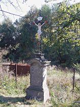Kreuz am Rande der Stadt Cvikov - 11.10.2005