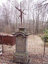Stav kříže před opravou, 27.3.2005