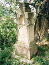 Stav kříže před opravou, léto 2002