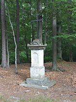 Kříž u Hamerského potoka - 16.7.2005