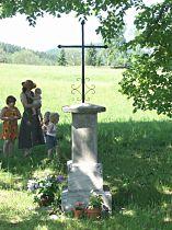 Kříž v osadě - 28.5.2005