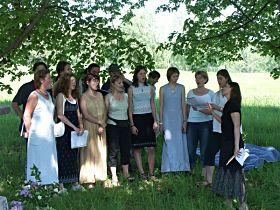 Vystoupení pěveckého sboru, 28.5.2005