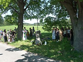 Slavnost u obnoveného kříže, 28.5.2005