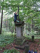 Oprava kříže, 11.9.2005