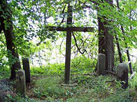 kříž před opravou