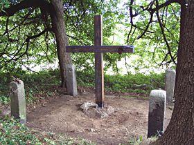 Kříž po první opravě - 11.7.2003