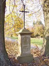 Kreuz am Südrande des Dorfes - 30.10.2005