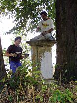 Reparatur des Kreuzes, 27.9.2005