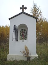 Kapelle am alten Weg nach Deštná - November 2007
