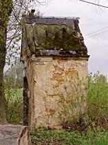 Stav kaple před opravou, 25.4.2004