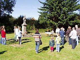 Požehnání sochy 13.9.2008