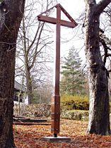 Kříž v osadě Babylon - 7.11.2004