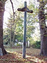 kříž před zničením, 18.9.2003