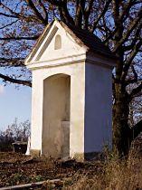 kaplička před dokončením opravy, 14.11.2004