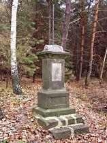 Kříž nad Loubským dolem - 7.11.2004