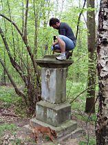 začátek opravy, 2.5.2004