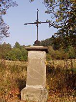Kříž u Bělé - říjen 2006