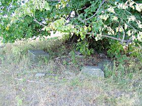 Rozvalená památka před opravou - 9.8.2003