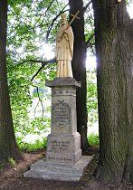 Statue des hl. Johann v. Nepomuk - 30.6.2006