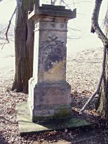 Statue vor der Reparatur, 2005