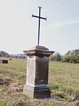 Kreuz in den Feldern in der Richtung nach Újezd - 9.10.2005